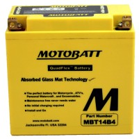 MBT14B4 MotoBatt Battery